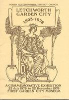Letchworth Garden City 1903-1978: by [LETCHWORTH]