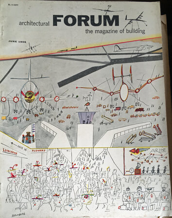 ARCHITECTURAL FORUM: Magazine of Building. Volume 104 no 6 by [ARCHITECTURAL FORUM] [ AIRPORTS]