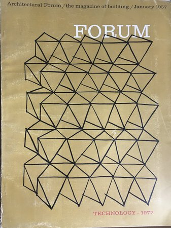 ARCHITECTURAL FORUM: Magazine of Building. Volume 106 no 1 by [ARCHITECTURAL FORUM] [TECHNOLOGY]