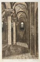 The Norman Chapel, Durham Cathedral by THORNTON, Valerie [ 1931-1991]