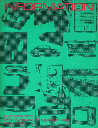 Information by McSHINE, Kynaston [editor] LIPPARD, Lucy [text by] et al.