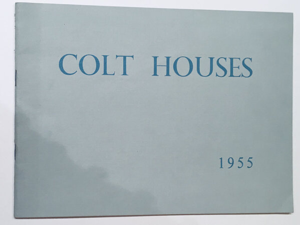 Trade Catalogue by COLT HOUSES