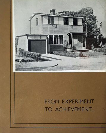 From Experiment to Achievement by [COVENTRY EXPERIMENTAL HOUSES]