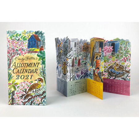 Allotment Calendar 2021 by SUTTON, Emily