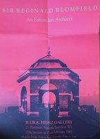 Poster for an Exhibition: Sir Reginald Blomfield: Edwardian Architect by [BLOMFIELD, Reginald] FELLOWS, Richard A. [ Exhibition organiser ]