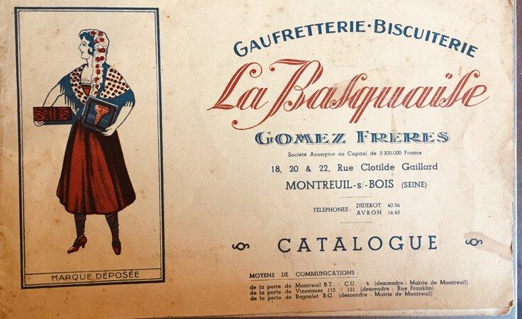 La Basquaise: Guafretterie: Bisuiterie by Gomez Frères la Basquaise