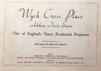 Wych Cross Place by [MAWSON, Thomas et al ]
