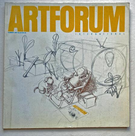 Artforum International Summer 1987 by [ARTFORUM] MILLER, Charles [ed]