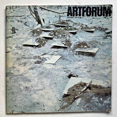 Artforum International by [ARTFORUM] BAKOWSKY, Jack.