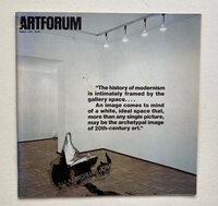 Artforum International by [ARTFORUM] COPLANS, John