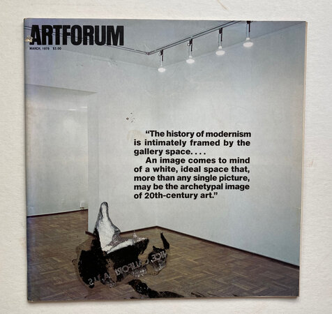 Artforum International by [ARTFORUM] COPLANS, John