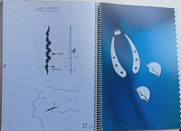 Alessandro Mendini Schetsboek - Sketchbook by [MENDINI]