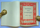 Another image of MORRIS AND COMPANY 1861 - 1940 A Commemorative Centenary Exhibition by (MORRIS, William )
