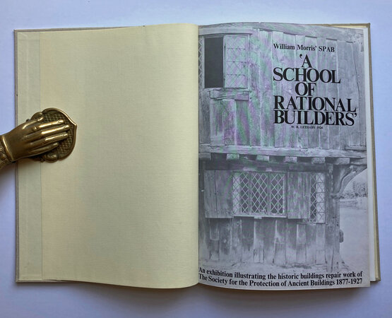 S.P.A.B. A School of Rational Builders by LETHABY, W. R.