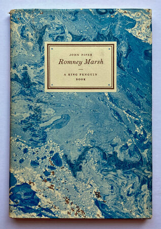 Romney Marsh Illustrated and Described (A King Penguin Book) by PIPER John