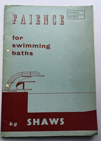 Faience for Swimming Baths by [MID-CENTURY DESIGN] SHAWS