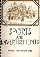 Sports and Divertissments by JOHNSON, Ronald & SATIE, Erik ( Ian Hamilton Finlay & John Furnival )