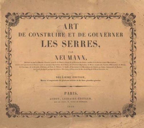 Art et Construire et de Gouverner les Serres by  NEUMANN
