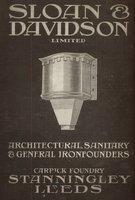 Architectural, Sanitary and a General Ironfounders, Carrick Foundary, Leeds by  (TRADE CATALOGUE) SLOAN & DAVIDSON Ltd