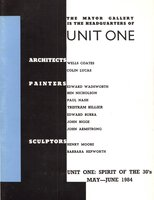 Unit One: Spirit of the 30s by (UNIT ONE) RICHARDS Sir James (introduction)