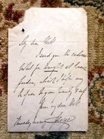 LETTER by PRINCE GEORGE, DUKE OF CAMBRIDGE, COMMANDER-IN-CHIEF BRITISH FORCES by PRINCE GEORGE, DUKE OF CAMBRIDGE
