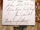 Another image of LETTER by PRINCE GEORGE, DUKE OF CAMBRIDGE, COMMANDER-IN-CHIEF BRITISH FORCES by PRINCE GEORGE, DUKE OF CAMBRIDGE