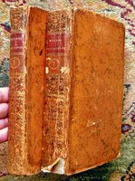 1767 SENSATIONS & PASSIONS of the FIVE SENSES - TWO VOLUMES w/ 19 PLATES - Rare by Claude-Nicolas LE CAT
