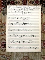 1940 MEL TORME Manuscript Handwritten MUSICAL SCORE - SIGNED & INSCRIBED Written at Age 15 by Mel TORME