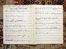Another image of 1940 MEL TORME Manuscript Handwritten MUSICAL SCORE - SIGNED & INSCRIBED Written at Age 15 by Mel TORME