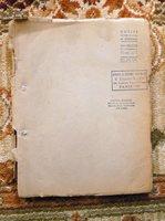 1947 JACQUES DEVAL - ORIGINAL CARBON TYPESCRIPT - LA FEMME DE TA JEUNESSE by Jacques Deval