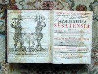 1749 Emminghaus on LAW - MEMORABILIA SUSATENSIA QUIBUS ORIGO FATA IUDICA - Rare by Theodor Georg Wilhelm EMMINGHAUS