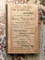 1896 BELVIDERE, ILLINOIS CITY DIRECTORY - EVERY RESIDENT'S NAME ADDRESS & TRADE
