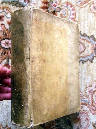 1693 VITAE PAPARUM AVENIONENSIUM Ecclesiastical History VELLUM Stephanus Baluzius (Étienne Baluze) by Stephanus Baluzius (Étienne Baluze)