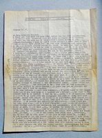 1937 GEORGE GROSZ LETTER SIGNED HANDWRITTEN & TYPED to AMERICAN ARTIST MARSHALL GLASIER re: Life, Art, Spain's Civil War by George GROSZ
