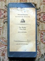 1947 BUDD SCHULBERG - UNCORRECTED PROOF - THE HARDER THEY FALL - RANDOM HOUSE by Budd Schulberg