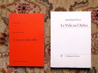 JEAN-DANIEL DUCRET French Poet - 2 BOOKS Both SIGNED & INSCRIBED to HENRY MILLER by Jean-Daniel Ducret (Henry Miller)