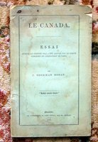 1855 CANADA Detailed Description & Statistics PARIS EXPO Winning Essays 1st Edition by J. Sheridan Hogan