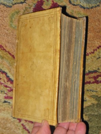 1609-1625 FUNERAL RITES, ANTI-JESUIT SATIRE, POPE JOAN - 4 Works bound in 1 Book VELLUM by Johann Kirchmann, Jacob Herrenschmidt, Johann Seyffert (aka Philander Philanax)