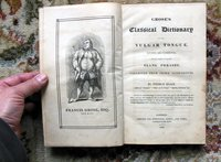 1823 GROSE'S CLASSICAL DICTIONARY of the VULGAR TONGUE with SLANG PHRASES by Pierce EGAN (Francis GROSE)