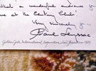 Another image of 1939 Letter by PAUL LEYSSAC - DANISH ACTOR and Hans Christian Andersen Translator by PAUL LEYSSAC