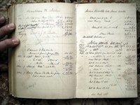 JOHN MEREDITH READ - REPUBLICAN PARTY FOUNDER - LEDGER w/ 100s PENNSYLVANIA NAMES 1830-1880 by Judge John Meredith Read