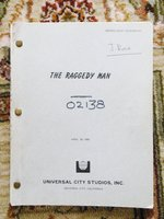 "1980 WORKING DRAFT SCREENPLAY / SCRIPT ""RAGGEDY MAN"" SISSY SPACEK, ERIC ROBERTS by William Wittliff (Sissy Spacek, Jack Fisk)"