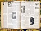Another image of 1950 TWELVE Bound Issues RARE BRAZILIAN LITERARY NEWSPAPER