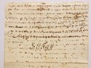 Another image of 1795 OFFICIAL HANDWRITTEN DOCUMENT SIGNED by KING OF SPAIN to the GOVERNOR of CUBA