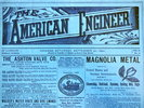 Another image of The AMERICAN ENGINEER: An Illustrated Weekly Journal. September 20, 1890 [1 Issue in Original Wraps] Rare VICTORIAN ANTIQUE Engineering Technology by John Weston [Editor]