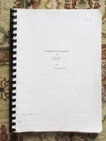 Unproduced Original FILM SCREENPLAY by EVA BARTOK, Famous ACTRESS and Child Bride of a Nazi Officer by Eva Bartok