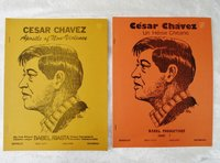 Two CESAR CHAVEZ Informational Teaching Guides for use in Bilingual Elementary Schools by Concha Delgado, Charlotte Nieto Maldonado