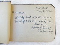 1930 GLAD TIDINGS BIBLE INSTITUTE - AUTOGRAPH ALBUM of BROTHER NICHOLAS TOUNGAUR