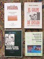 4 Books on the DOMINICAN REPUBLIC Each SIGNED & INSCRIBED to the U.S. AMBASSADOR by BERNARDO VEGA, Miguel Guerrero, Carlos Cornielle, Dr. Reynolds Jossef Perez Stefan