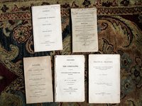 FIVE ORIGINAL 19th Century Booklets on CORN LAWS 1815, 1815, 1844, 1832, 1801